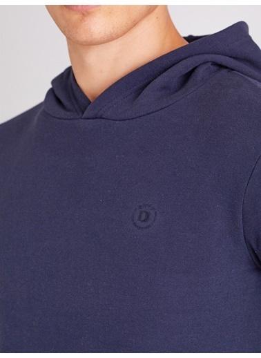 Dufy Düz Erkek Sweatshirt - Regular Fit Lacivert